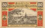 Austria, 80 Heller, FS 37II