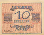 Austria, 10 Heller, FS 43b