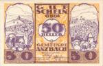 Austria, 50 Heller, FS 48IAe