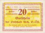 Austria, 20 Heller, FS 10a