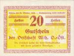 Austria, 20 Heller, FS 10b