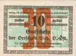 Austria, 30 Heller, FS 10If