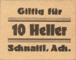 Austria, 10 Heller, FS 4b
