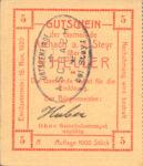 Austria, 5 Heller, FS 54IIc v1