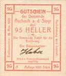 Austria, 95 Heller, FS 54IIc v3