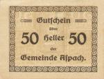 Austria, 50 Heller, FS 57a