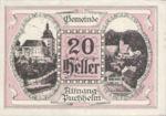 Austria, 20 Heller, FS 61II