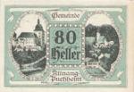 Austria, 80 Heller, FS 61II