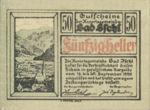 Austria, 50 Heller, FS 77a