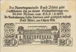 Austria, 20 Heller, FS 77c