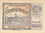 Austria, 50 Heller, FS 80b