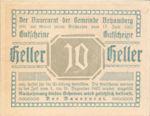 Austria, 10 Heller, FS 80a