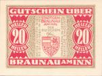 Austria, 20 Heller, FS 101