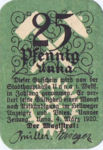Germany, 25 Pfennig, U7.3a