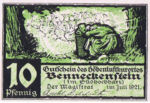 Germany, 10 Pfennig, 73.1