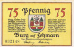 Germany, 75 Pfennig, 207.1