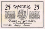 Germany, 25 Pfennig, 207.1
