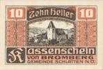 Austria, 10 Heller, FS 105b