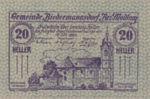Austria, 20 Heller, FS 87b