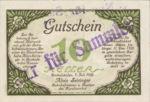 Austria, 10 Heller, FS 89b