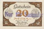 Austria, 20 Heller, FS 89b
