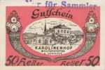 Austria, 50 Heller, FS 89b