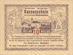 Austria, 10 Heller, FS 92a