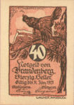 Austria, 40 Heller, FS 99a