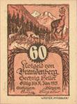 Austria, 60 Heller, FS 99a