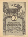 Austria, 80 Heller, FS 99bA