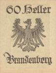 Austria, 60 Heller, FS 99bA