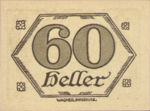 Austria, 60 Heller, FS 99d