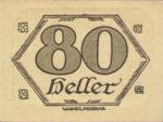 Austria, 80 Heller, FS 99d