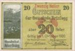 Austria, 20 Heller, FS 104c
