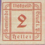Austria, 2 Heller, FS 107Ib