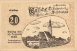 Austria, 20 Heller, FS 112c