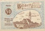 Austria, 50 Heller, FS 112X