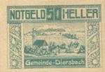 Austria, 50 Heller, FS 121IIa