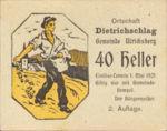 Austria, 40 Heller, FS 123IC