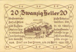 Austria, 20 Heller, FS 129Ia