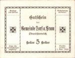 Austria, 5 Heller, FS 129IIf