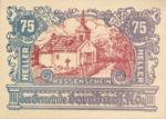 Austria, 75 Heller, FS 132a
