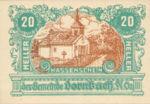 Austria, 20 Heller, FS 132c