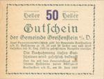 Austria, 50 Heller, FS 275a