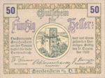 Austria, 50 Heller, FS 275e