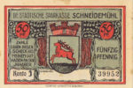 Germany, 50 Pfennig, 1191.2b