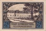 Germany, 75 Pfennig, 1191.1b