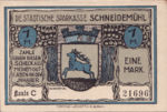 Germany, 1 Mark, 1191.1b