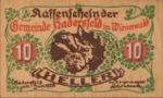 Austria, 10 Heller, FS 327Ia