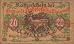 Austria, 20 Heller, FS 327Ia